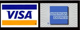 VISA and American Express