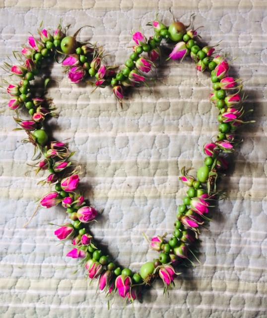 Rosebud HeART by Marcella Andrews