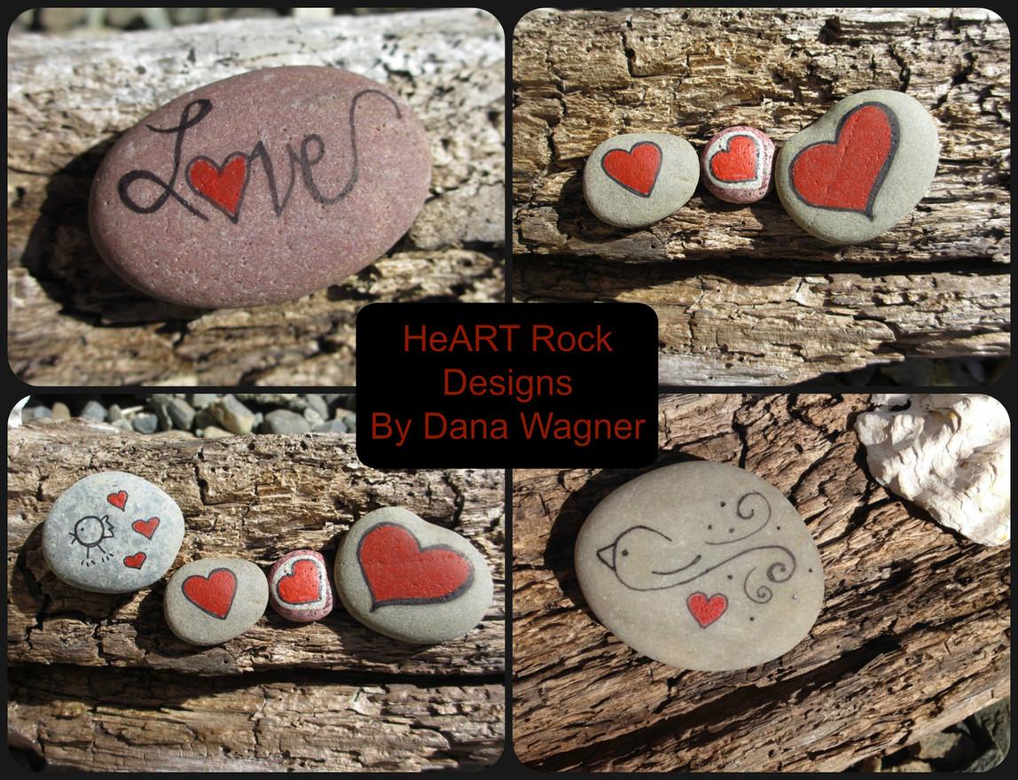 HeART Rock Designs by Dana Wagner