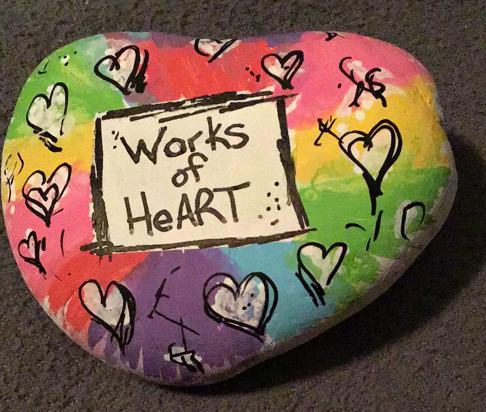 Kindness Rock by Brenda Gilchrist-Sword