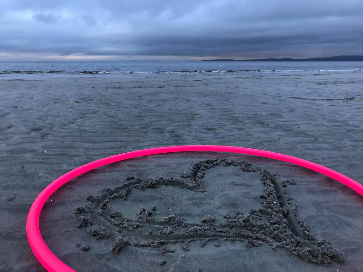 Beach HeART by Cora Schiller