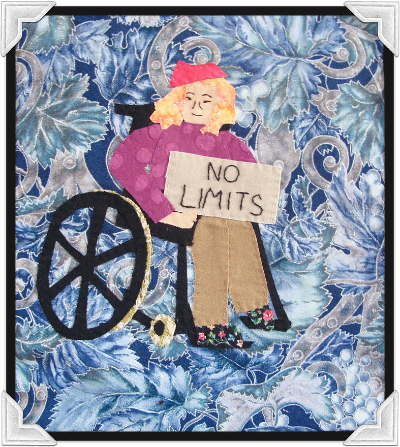 No Limits - Fabric Art