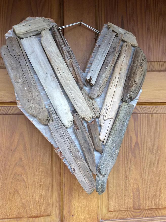 Driftwood HeART by Monica Duncan