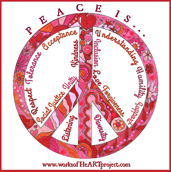 Peace is...
