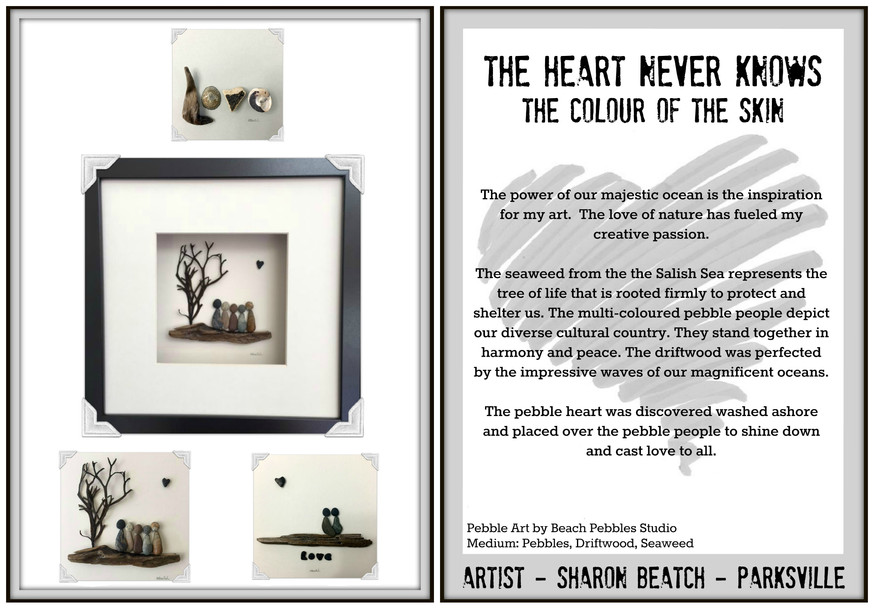 The Heart Never Knows the Colour of the Skin Collection
