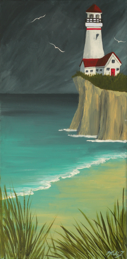 The Lighthouse on the Cliff