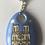 Thumbnail: Porte-clefs Notre Dame de Paris en porcelaine de Limoges