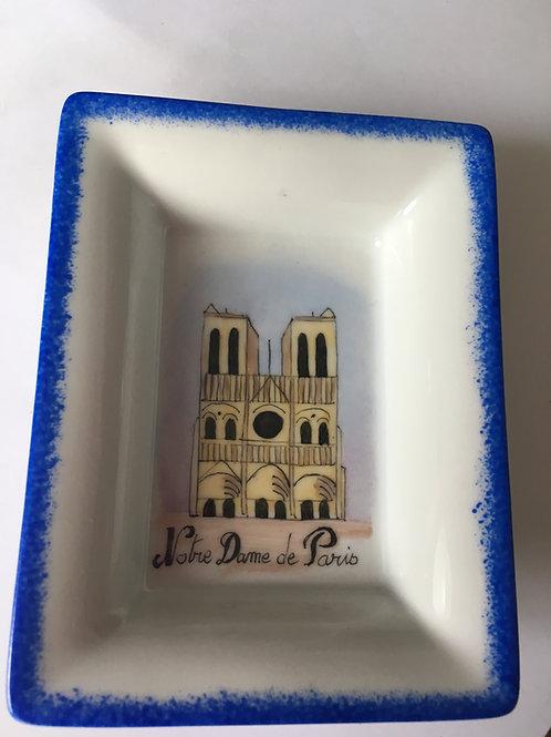 Mini-vide poche porcelaine Limoges - Notre-Dame de Jour