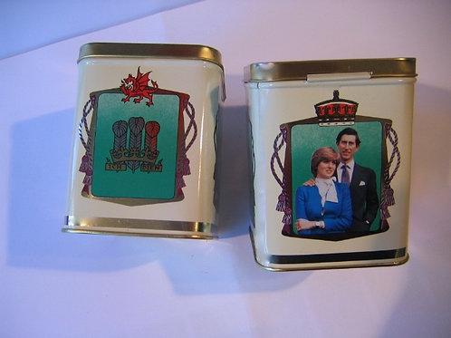 Boîte de collection mariage de Lady Diana
