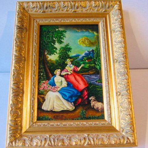 Peinture sur toile d'après Christian Dietrich