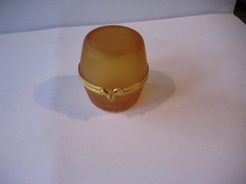 Boîte en cristal de Lorraine    réf.01
