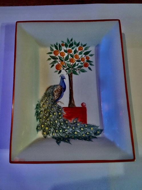 Le Paon Art Nouveau de la Verrière de la Samaritaine