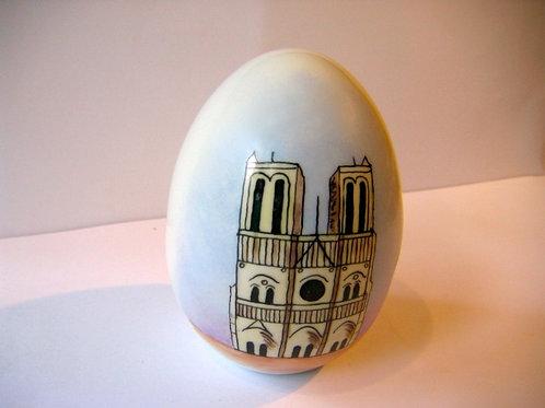 Oeuf petit modèle Notre-Dame de Paris - Réf.01