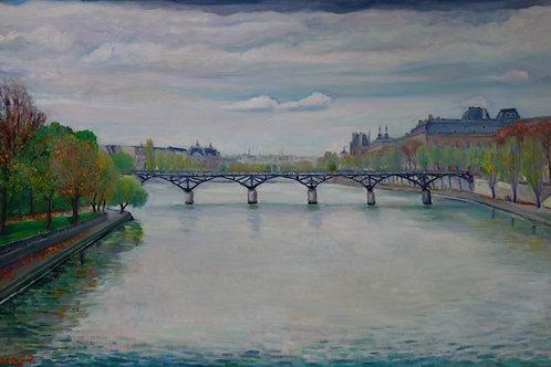 Le Pont des Arts par Takashi Imajo