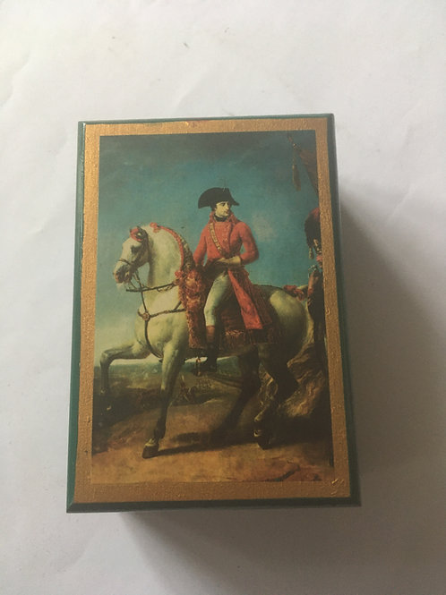 boîte bois Bonaparte premier Consul