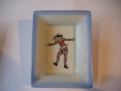 Arlequin  - Vide poche en porcelaine