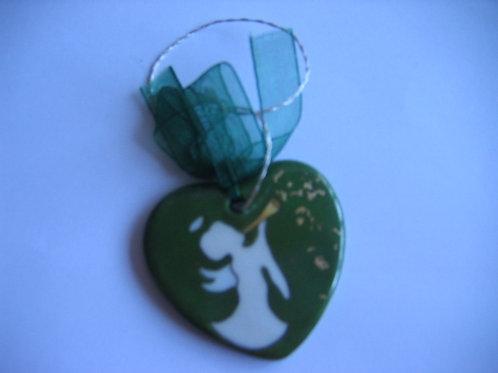 Pampille petit ange vert