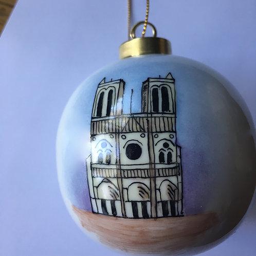 Boule de Noël - Notre-Dame de Paris
