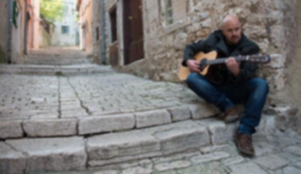 photo shooting on the streets of Rovinj