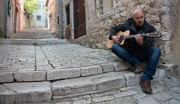 photo shooting on the streets of Rovinj