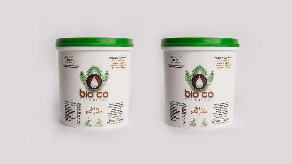 Mega Pack 2 litros de aceite de coco