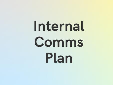 Case Study: Internal Comms Plan