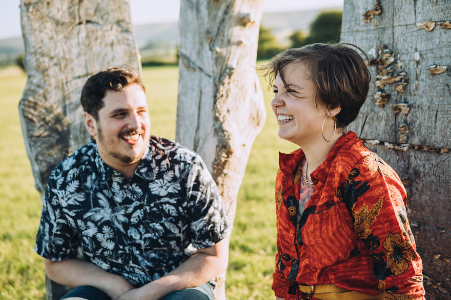 Golden Hour Engagement Shoot | The Party Field