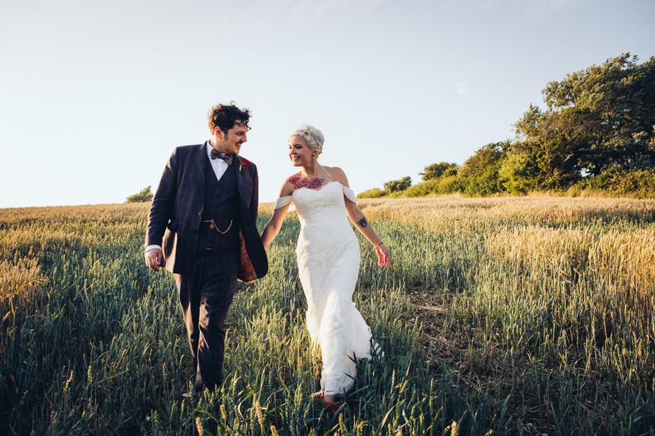 Stylish Eco-Conscious DIY Festival Wedding | The Party Field