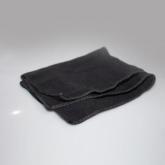 Black Microfiber Cloths