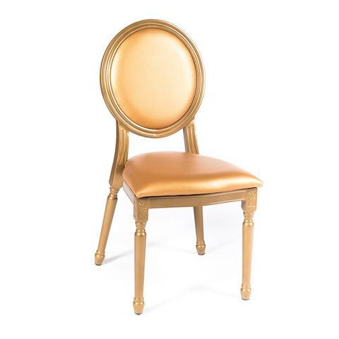 Gold Louis XV Medallion Chair