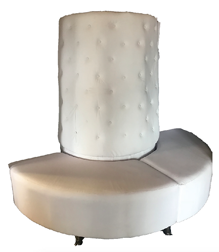 White Cone Lounge Set