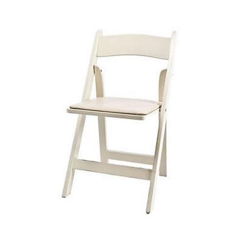 Ivory Garden Folding Chair