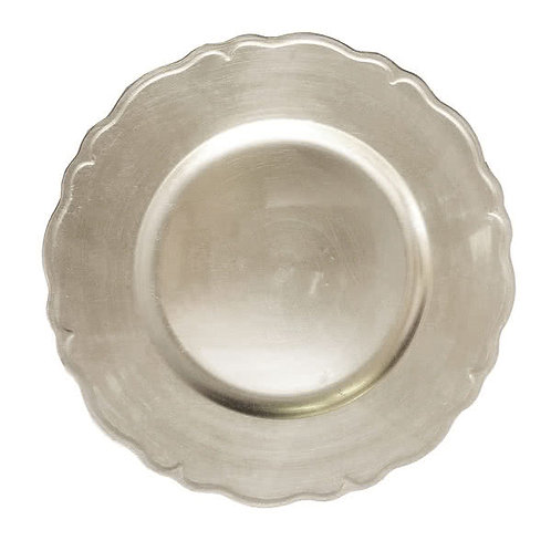 Regency Round Charger Plate