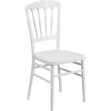 White Napolean Chair