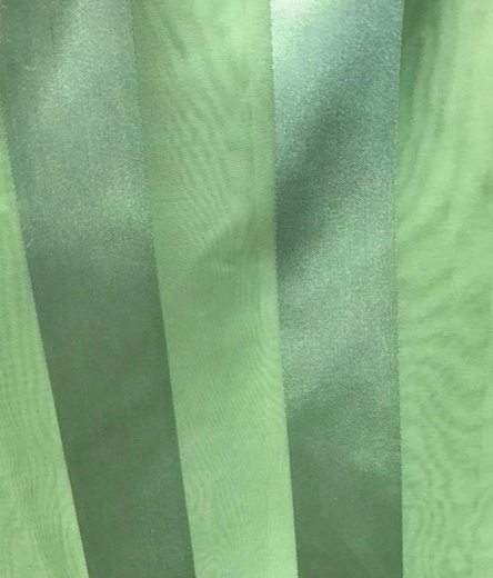 Striped Organza Overlay Topper