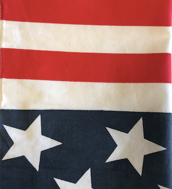 USA Flag Cotton Table Runner