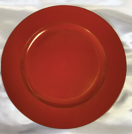 Acrylic Round Charger Plate