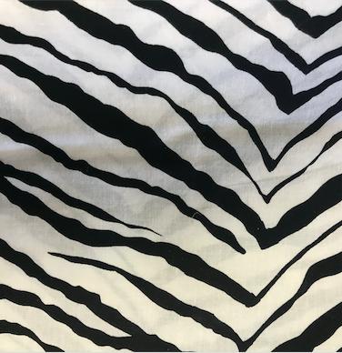Zebra Table Runner