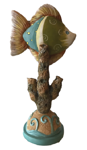 """Under the Sea"" Angel Fish Centerpiece"