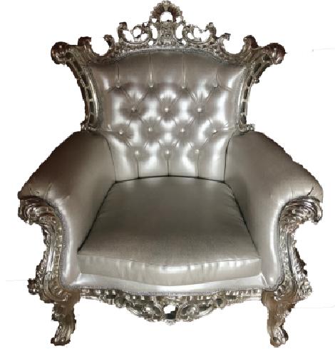 Silver Royal Armchair