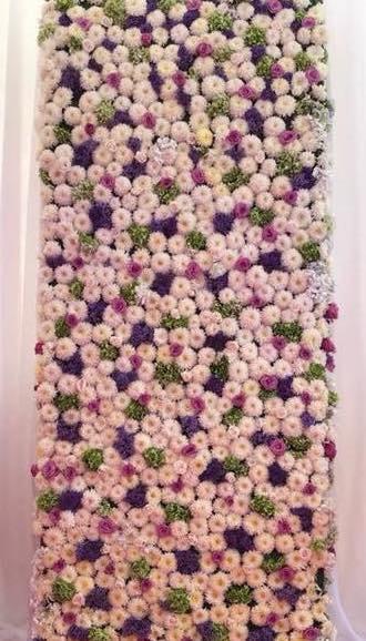 4' x 8' Fresh Flower Wall