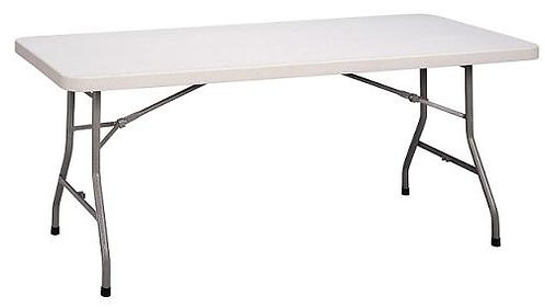 Plastic Folding Rectangular Table