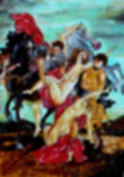 L'enlèvement des filles de Leucippe RUBENS