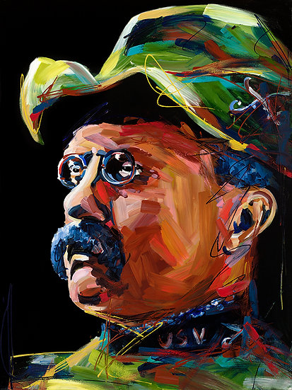 Teddy Roosevelt Canvas