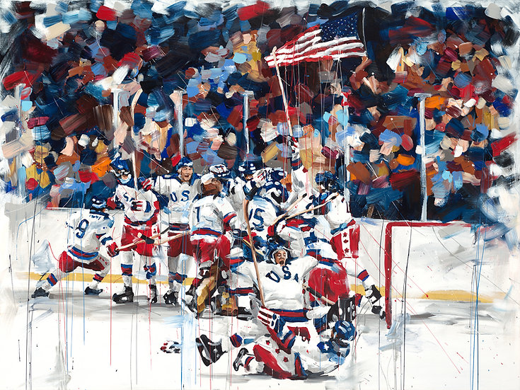 Miracle on Ice Print
