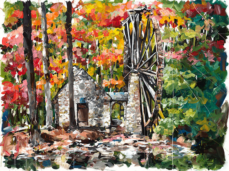 Old Mill at Berry College Print