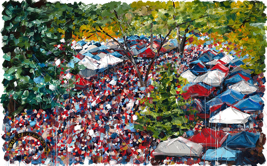 The Grove at Ole Miss Giclee