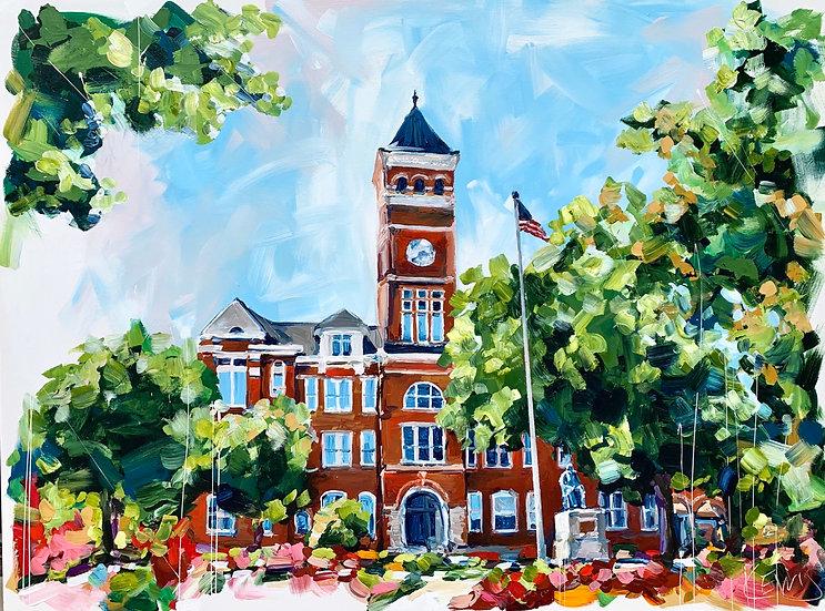 Clemson's Tillman Hall Canvas