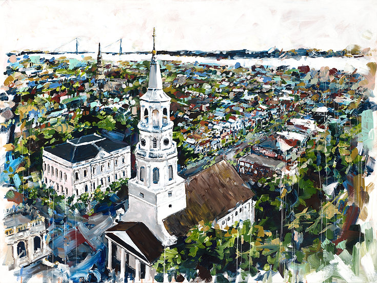 Charleston Skyline Original