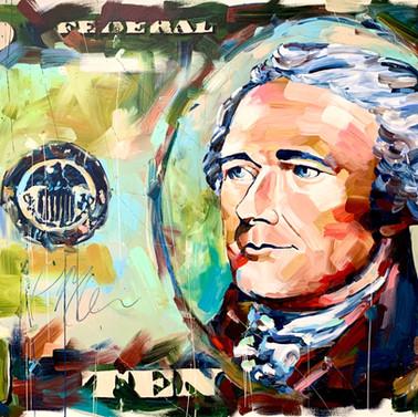 Hamilton $10 Bill